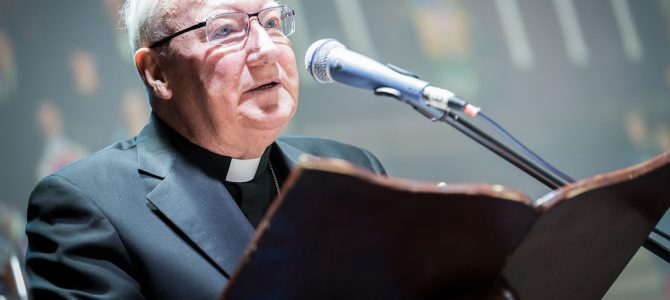 From presentation to proclamation, bishop guides GCF on 'mutual love'