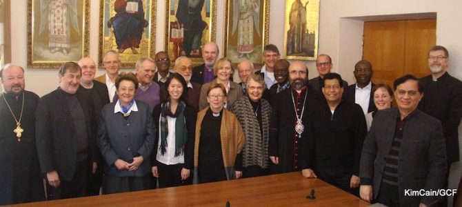 Current Global Christian Forum Committee (2020)