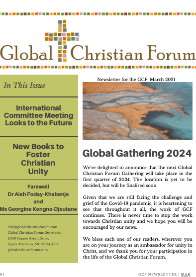 GCF Newsletter: March 2021